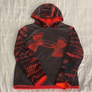 Boys size L Under Armour coldgear hoodie